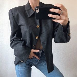 Vintage Classic Wool Burberry